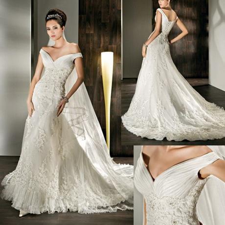lace vintage style wedding dress