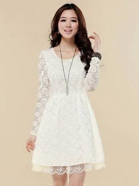 JS Fashion Vintage Dress Womens Long Sleeve Floral Lace