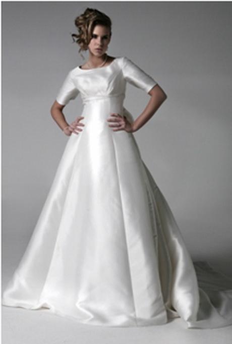 Lds bridal gowns for Lds plus size wedding dresses