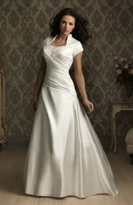 modesty m476 allure modest wedding gown m476 an elegant gown in all