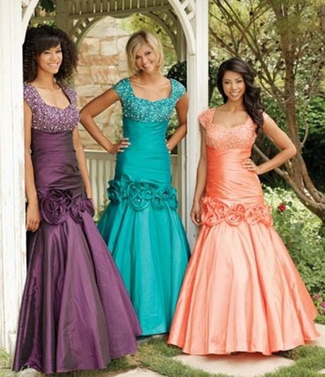 Prom Dresses Modest Lds Eligent Prom Dresses