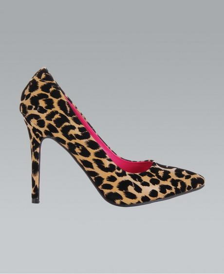 Animal Print Mid Heel Shoes