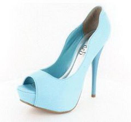 high heels sandals light blue - photo #17