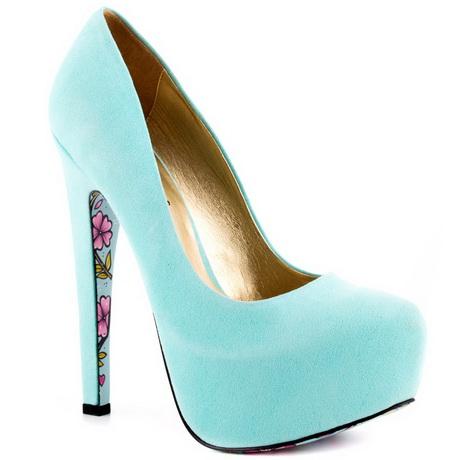Light Blue Heels