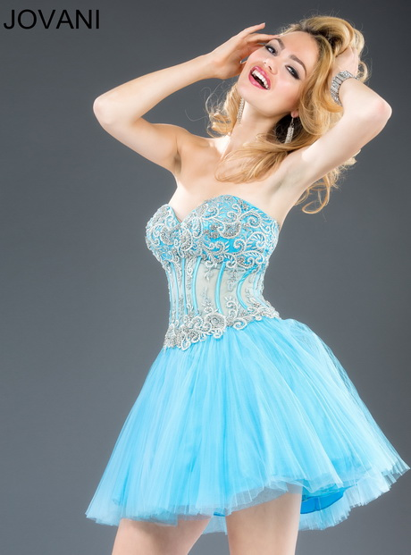 light blue homecoming dresses