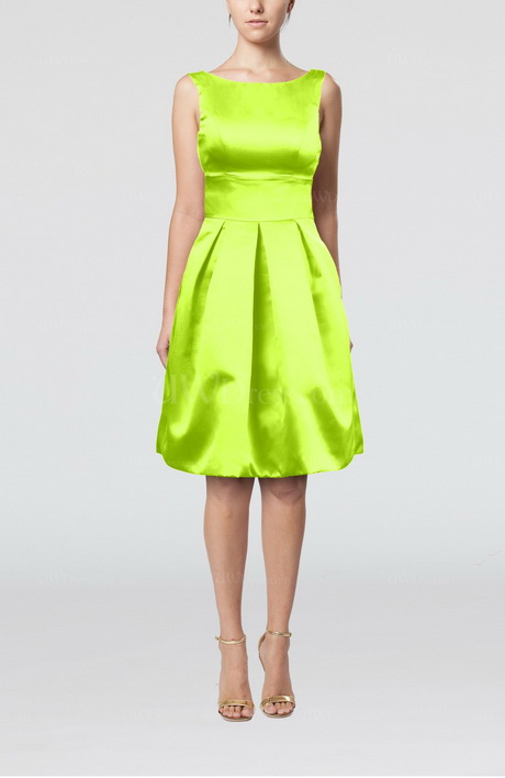 Lime Green Cocktail Dresses 20