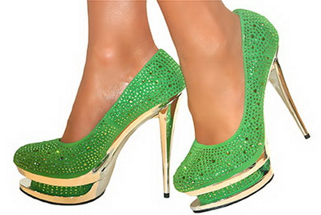 lime green heels