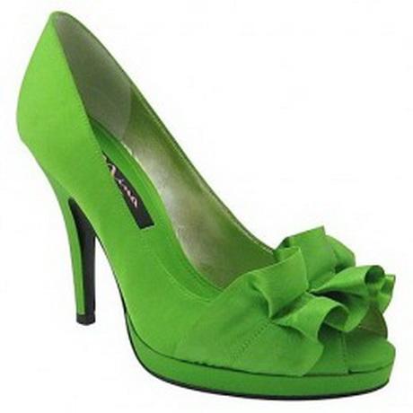 Neon Green High Heel Shoes
