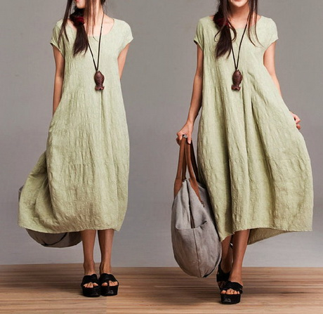 linen plus size dresses