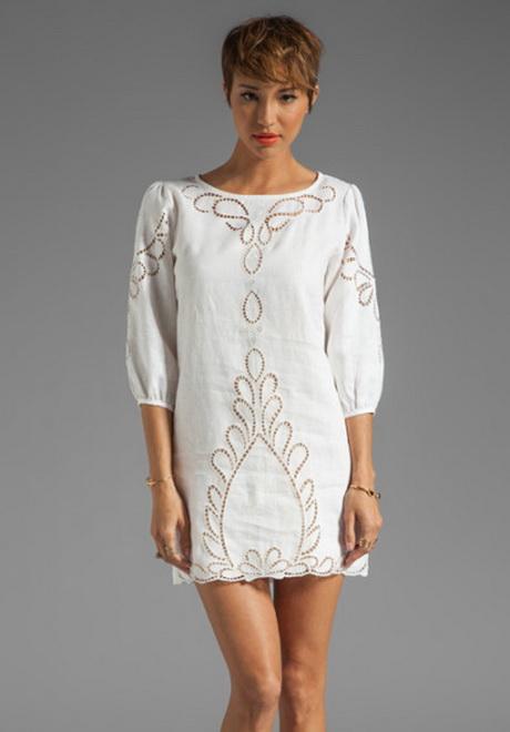 Linen white dress for White linen dress for beach wedding