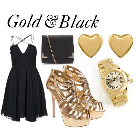Little black dress polyvore for Jewelry accessories for black dress
