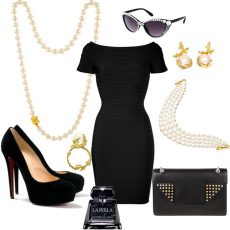 Little black dress polyvore