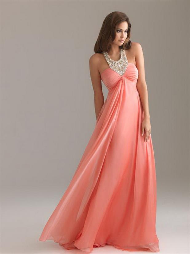 Long Flowy Prom Dresses
