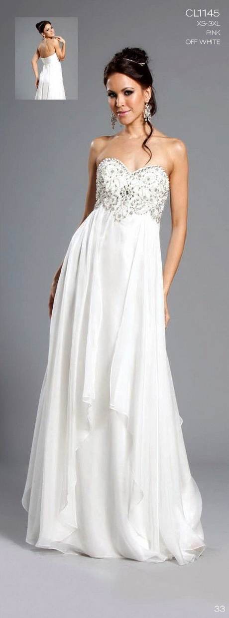 Long White Prom Dresses 88