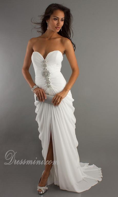 Long flowy prom dresses for Plus size flowy wedding dresses