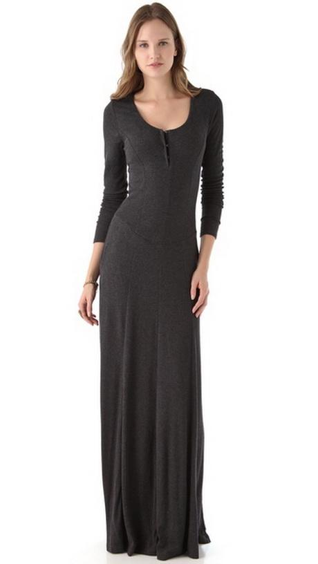 long sleeved maxi dresses