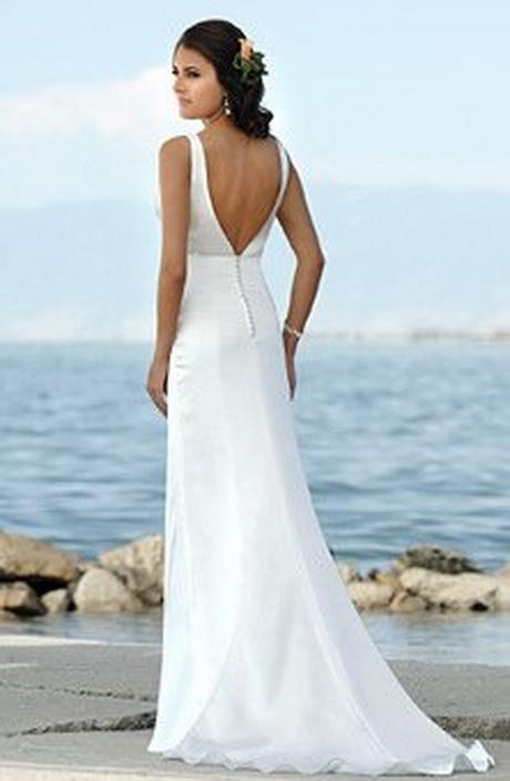 Low back wedding dresses for Beach wedding dress low back
