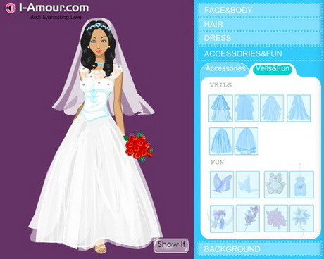 create your own wedding dress create