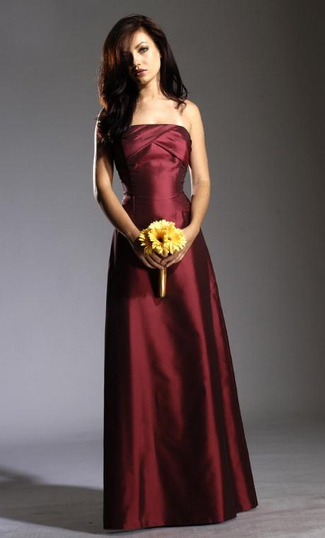 Maroon bridesmaid dresses pinterest