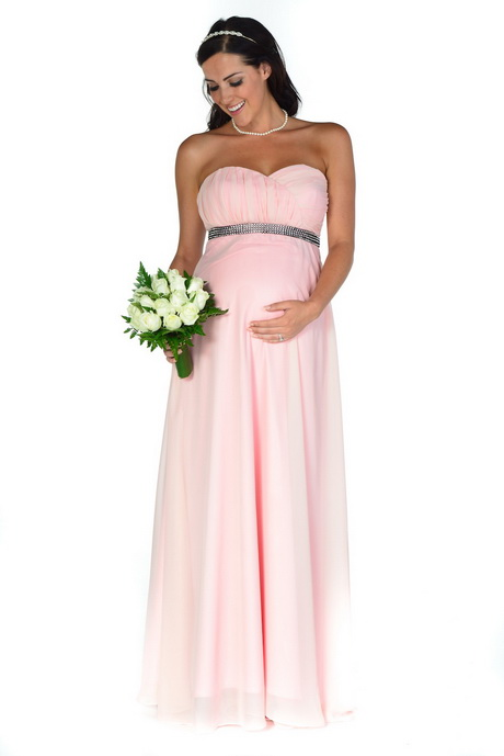 Pink Maternity Bridesmaid Dresses 105