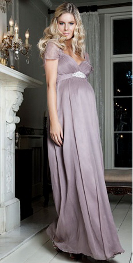Wedding Dresses For Pregnant Guests : Silk sophia mauve maternity dress the range of dresses from