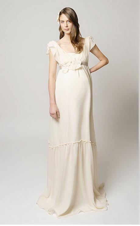 Maternity wedding dresses davids bridal for Wedding dress pregnant bride