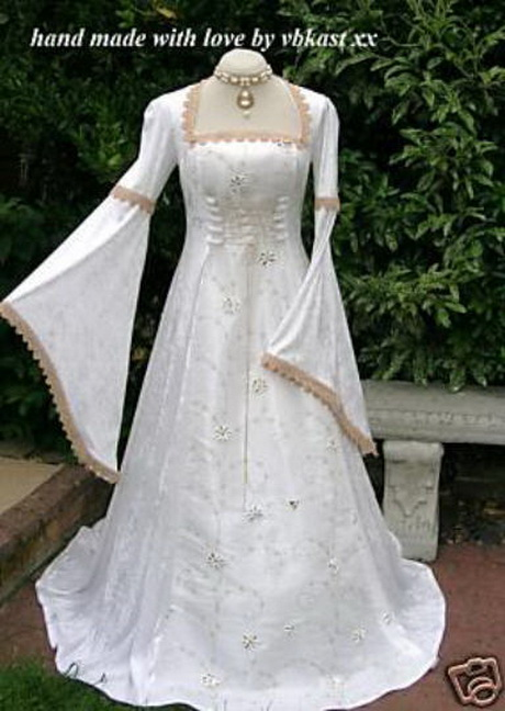 Medieval Bridal Gowns