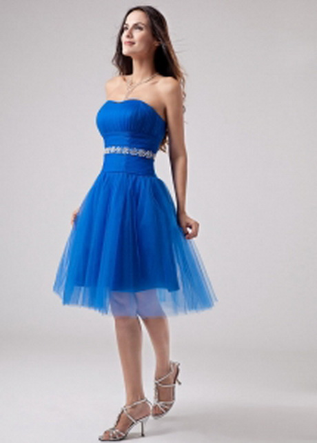 267.48 $107.57: Beading Strapless A-Line Knee-length Prom Dress Tulle
