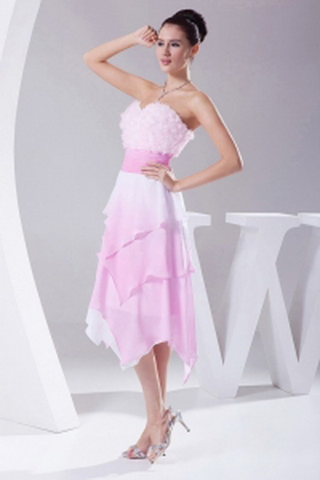 ... Hand Made Flowers Ombre Fabric Asymmetrical Sweetheart 2013 Prom Dress
