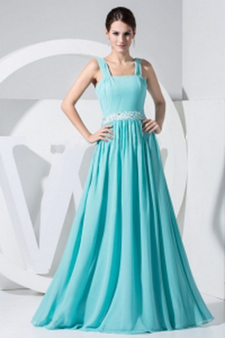 ... Decorate Wasit Aqua Blue Empire 2013 Prom Dress For Formal Evening