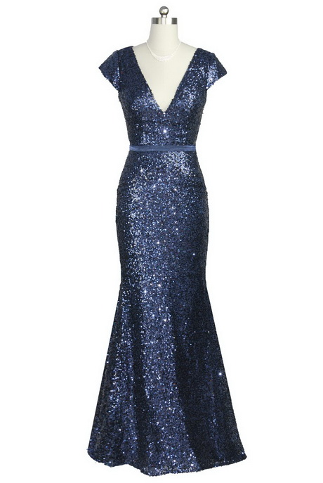 Midnight blue prom dress for Midnight blue wedding dress