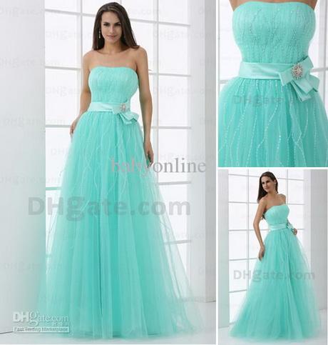 Mint Green Prom Dress 2013 Mint green prom dresse...