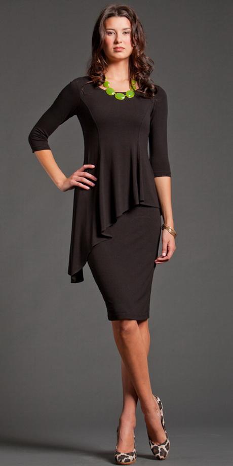 Modest little black dress
