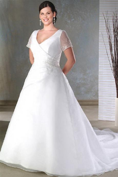 Modest plus size dresses for Lds plus size wedding dresses