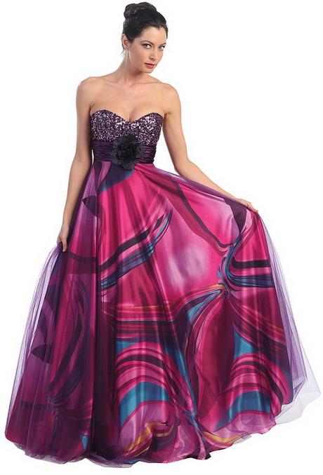 Multi Colored Prom Dresses