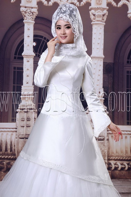Muslim wedding dresses for Muslim wedding dress photo