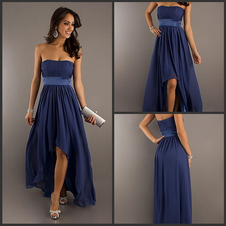 Navy Blue Wedding Dresses Navy blue bridesmaid dress