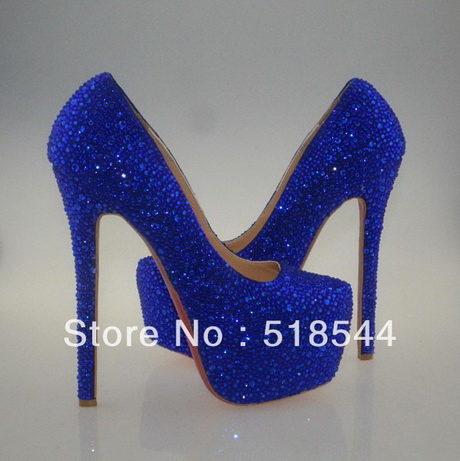navy blue high heel shoes