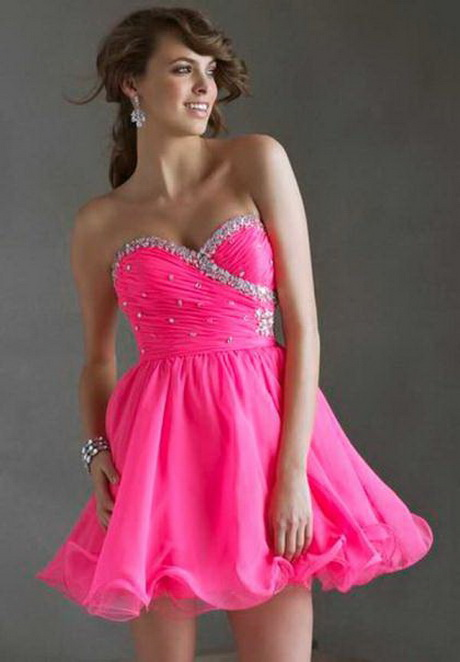 Neon Colored Homecoming Dresses
