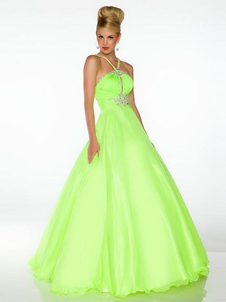 neon prom dresses