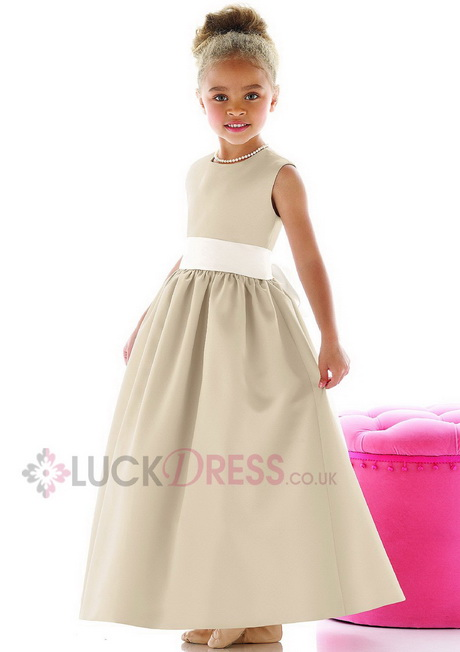 Cheap Bridesmaid Dresses For Children Wedding Short Dresses
