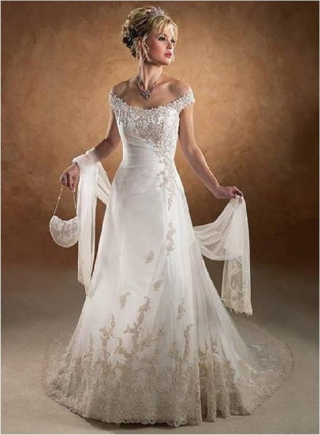 Off the shoulder lace wedding dress for Lace off the shoulder wedding dresses