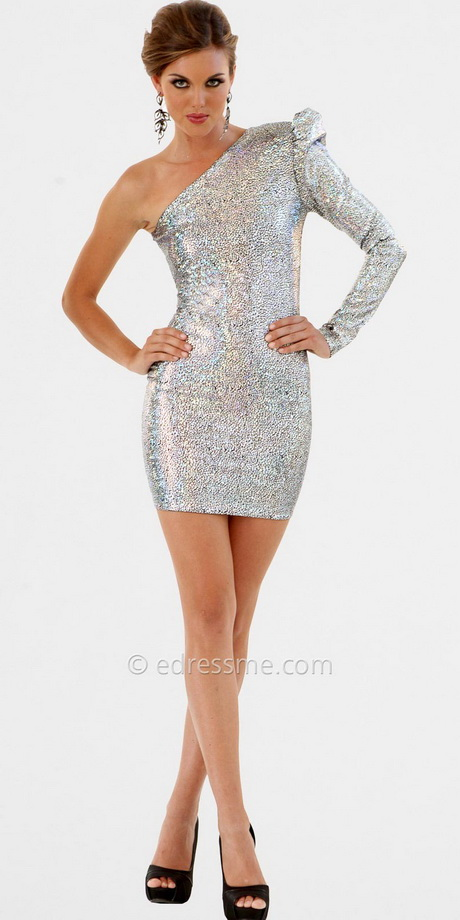 Homecoming Dresses One Shoulder Cheap 68
