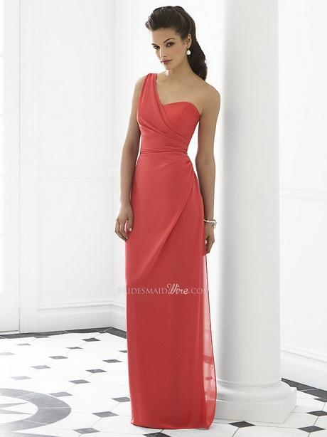 One Strap Bridesmaid Dresses