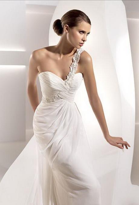 One Strap Wedding Dresses
