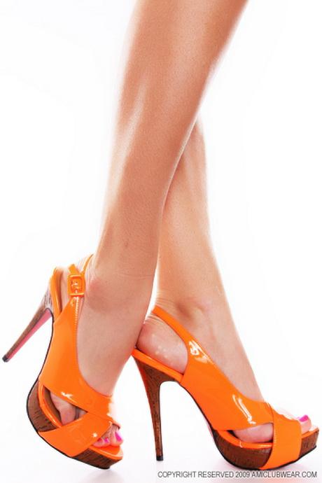 рассмотрим во сне видеть оранжевые туфли на каблуке хлопковая