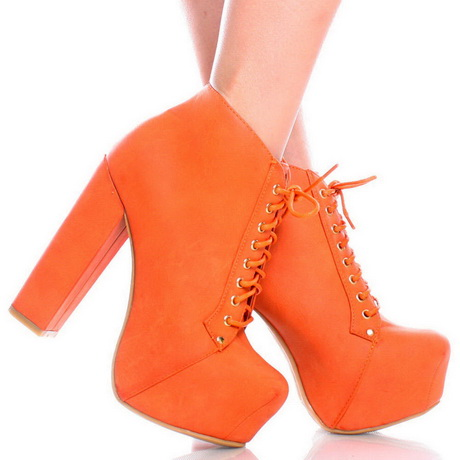 Sexy Orange Open Toe Rhinestone Single Sole High Heels Faux Suede These heels are the perfect go to for a night out with the girls! Featuring; faux suede, open toe, clear strap, rhinestone detail, back heel .
