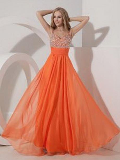 Orange prom dresses 2014