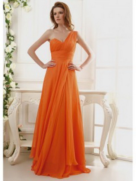 Orange Bridesmaid Dresses Under 100
