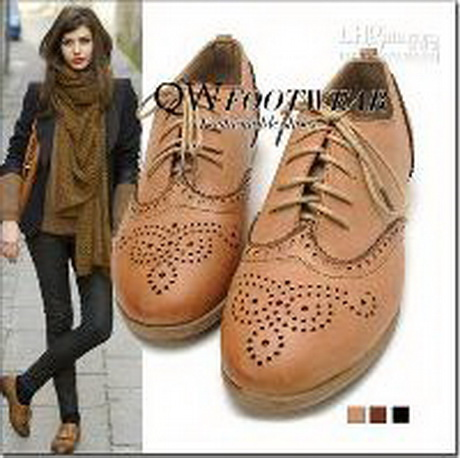 Wholesale Womens shoes oxford Vintage Cut Out Style Oxfords British